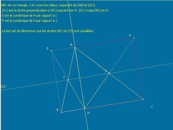 théorème des milieux 4ème